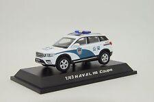 RARE ! Haval H6 China Police Custom Made 1/43