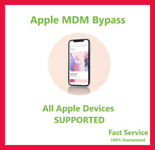 APPLE MDM/ REMOTE MANAGEMENT BYPASS iPHONE IOS 14 Supported