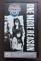 L.A.GUNS - One More Reason VHS Video PAL Very Good Glam Rock RARE Phil Lewis