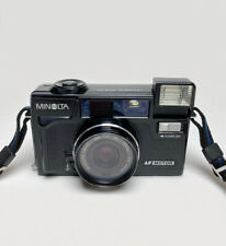 New ListingMinolta Hi-Matic Af2-M Point & Shoot 35mm Film Camera From Japan - Tested