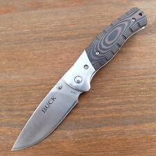 BUCK Selkirk Small Einhandmesser- Taschenmesser - Klappmesser Messer + Clip