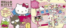 Hello Kitty Calendar Limited Edition + Poster Sanrio Friends + stickers RARE