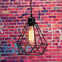 Industrial Pendant Light Iron Retro Ceiling Hanging Lamp Dining Loft Restaurant