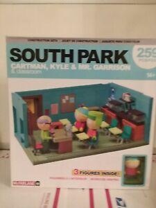 South Park (McFarlane) building sets: Mr. Garrison's classroom, Cartman & Kyle