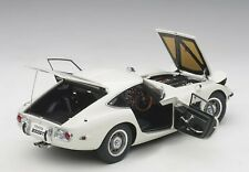 Autoart Toyota 2000 GT White in 1/18 Scale New Release!