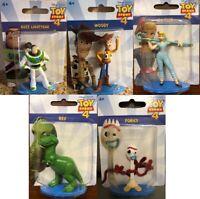 Disney Pixar Toy Story 4 Mini Action Figures - Mattel - Buzz Lightyear, Woody ++