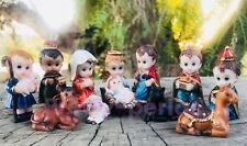 Nacimiento Niño Dios Christmas Nativity Set Figurines Decoration Birth Of Jesus