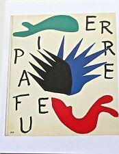 Henri Matisse Poster -Pierre A Feu Ltd Ed Unsigned Reprint 13x10 Offset Litho