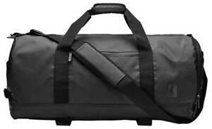 Nixon Pipes 45L Duffle Bag - All Black - New