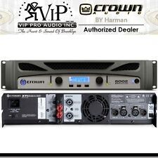 Crown XTi 6002 Two-channel, 2100W @ 4Ω Power Amplifier, Portable PRO AUDIO AMP.
