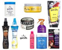 BEST PRICE SCHWARZKOPF GOT2B HAIR STYLING PRODUCT, Sprays,Wax,Paste,Powder,Gum