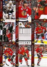 2015-16 UD Upper Deck Chicago Blackhawks Master Team Set w/YG Canvas SS P (40)