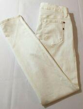 GENETIC DENIM White Skinny Jeans Low Rise Stretch THE SHYA Women's Size 26