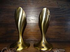 18519 Pair of Mid Century Modern TABLE LAMPS ~ Paavo Tynell SARFATT
