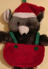 Vintage Christmas Stocking Mouse!