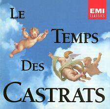 CD LE TEMPS DES CASTRATS - Jochen Kowalski - James Bowmann - Rene Jacobs u.a.