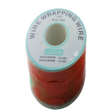 250M 0.5MM Tin Plated Copper Wire Circuit Board Jumper Cable Red
