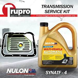 SYNATF Transmission Oil + Filter Kit for Mitsubishi Magna TL TJ TW Verada KW