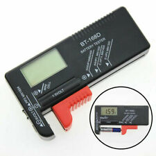 New Digital Battery Tester Checker for AA AAA C D 9V 1.5V Button Cell Batteries