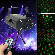 Mini LED Stage R&G Laser Projector Lighting Disco Party DJ Club Light + Remote
