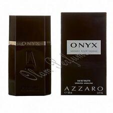 Azzaro Onyx Pour Homme Eau de Toilette Spray 3.4oz 100ml * New in Box Sealed * +