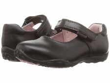 Pediped TOP QUALITY Childs Girls School Shoes - Black Beverly SIZE 10 / 10.5 UK