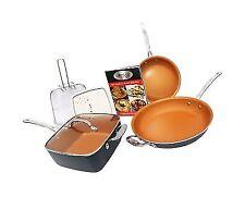 Gotham Steel Tastic Bundle 7 Piece Set Titanium Ceramic Pan - Copper