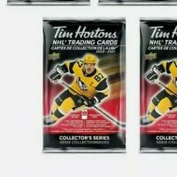 2020-21 Upper Deck Tim Hortons Hockey cards - 3 Cards per  PACK.
