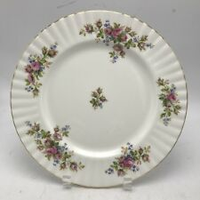 Royal Albert England Moss Rose Floral Bread Butter Plate Montrose Shape 6.25""
