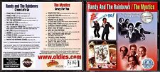 CD 1506  RANDY AND THE RAINBOWS  THE MYSTICS 2 CD