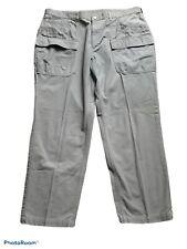 rei mens outdoor cargo pants size 40 x 30 grey