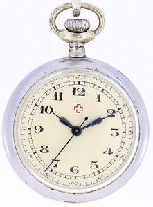 Antike Taschenuhr Swiss Made #004