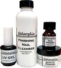 Sheba Nails Gelcrylic Intro Odorless UV Gel Kit - Pink Powder