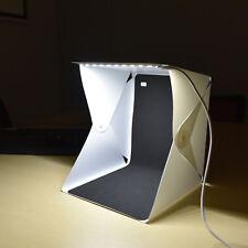40cm Photo Studio Shooting Led Lighting Tent Kit Portable Mini Cube Box SoftBox