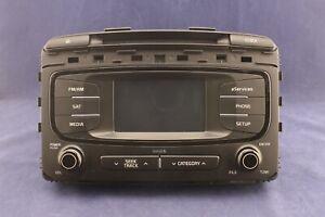 2016->18 Kia Sorento OEM AM/FM Sirius Radio Receiver CD/Mp3 Player 96160-C6000WK