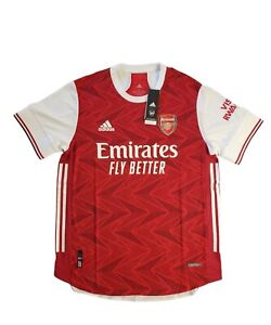 Adidas 2020 2021 ARSENAL Authentic Home Soccer Jersey Football Shirt FH7815 Sz L