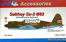 AML Models 1/72 SUKHOI Su-2 M82 Resin & Decals Conversion Kit