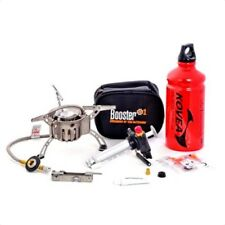 Kovea Booster Plus + 1 DUEL FUEL GAS or WHITE FUEL Camp Stove Backpacking Light