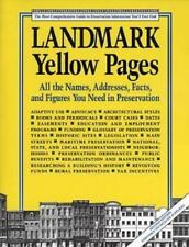 Landmark Yellow Pages: Where to Find All the Names, Addresses, Facts, and