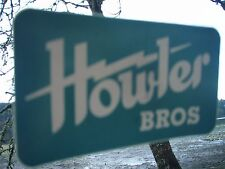 Howler Bros Aqua Lightning Bolt sticker