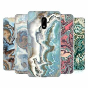 OFFICIAL ANDI GREYSCALE ABSTRACT AGATE GEL CASE FOR NOKIA PHONES 1