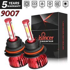 9007 HB5 LED Headlight Conversion Kit 2200W 350000LM High Low Beam Bulbs 6000K