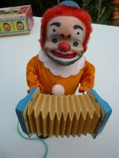 HAPPY'N SAD MAGIC FACE CLOWN MUSICIEN AUTOMATE JOUET 1960'S JOJA JAPAN