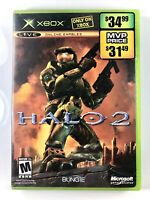 FREE SHIPPING🔥 Halo 2 (Xbox, 2004) Complete W/ Manual CIB Classic FPS Good