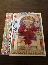Vintage The Queen Mother Mother Day Sunrise Card 1999