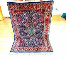 Orientteppich Bidjar Herati 1.2x1.80m. Blumenmuster blau!