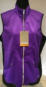 SUNICE LADIES CANDY THERMOL POWER STRETCH GOLF VEST S64500-MRRP £75 SAVE £50