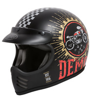 CASCO INTEGRALE VINTAGE PREMIER MX SPEED DEMON SD9 BM TAGLIA S
