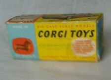 "Original Corgi 231 Triumph Herald box ""only"" genuine not repro"