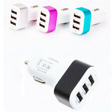 Universal Car Charger For Apple iPhone 6S ipod Triple 3-Port USB Adapter 2A 2.1A